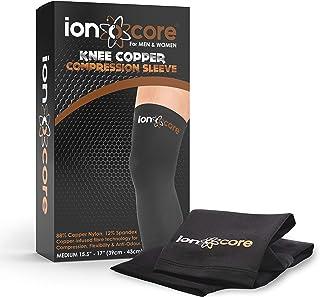 comprar comparacion Ionocore® Soporte de Rodilla Rodillera de Protección de Rótula, Menisco y Ligamento - Alivia Dolor de Articulaciones para ...