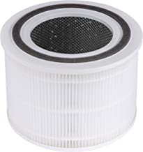 LEVOIT Core 300 Air Purifier Replacement Filter, 3-in-1 Pre-Filter, True HEPA Filter, High-Efficiency Activated Carbon Fil...