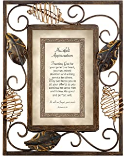 CB Gift Collection-Heartwarming Expressions Wire Framed Sentiment and Verse, 7 x 9-Inches, Heartfelt Appreciation -Hebrews 6:10