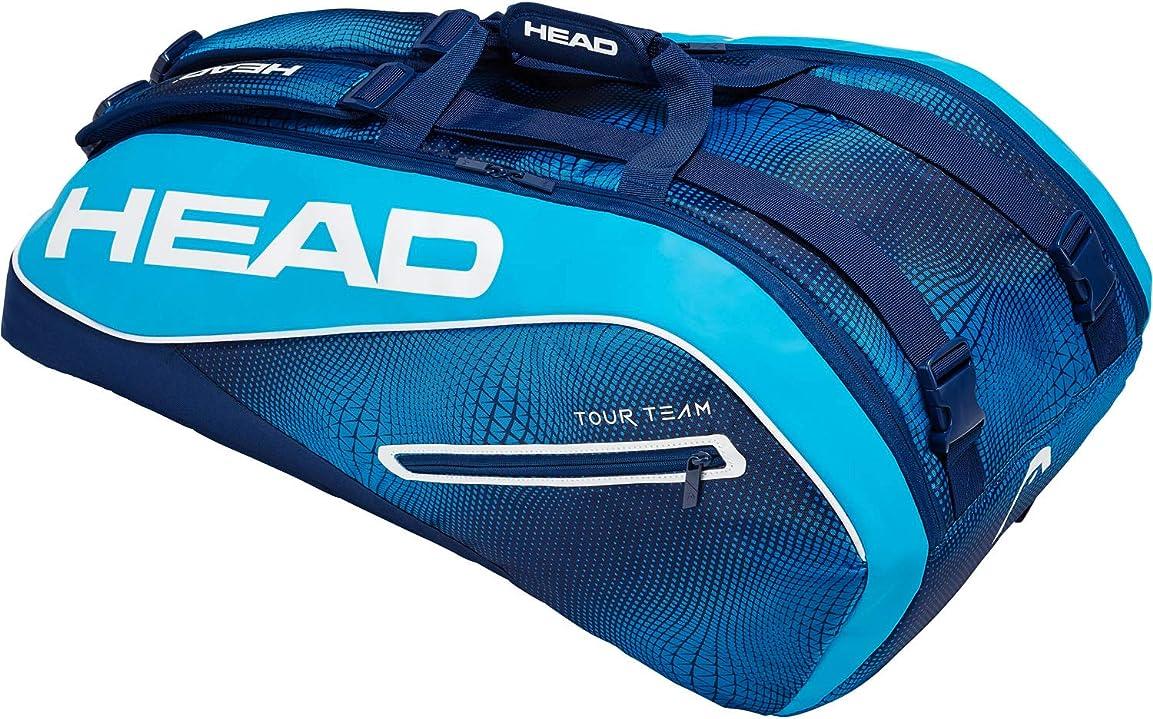 ベンチャーサイクル好ましいヘッド(HEAD) テニス ラケットバッグ (ラケット9本収納可能) ツアーチーム 9R スーパーコンビ 283119