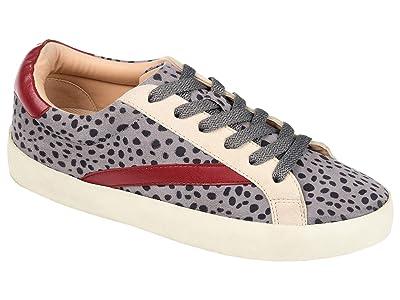 Journee Collection Comfort Foamtm Destany Sneaker (Grey) Women
