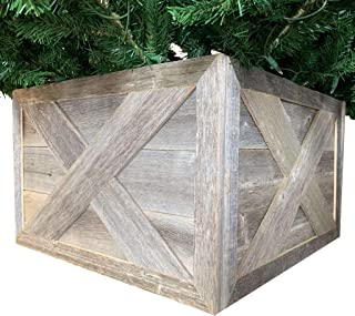 Best wooden box christmas tree stand Reviews