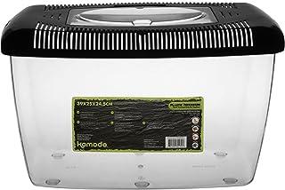 Komodo - Terrario de plástico, 39x 25x 24,5cm
