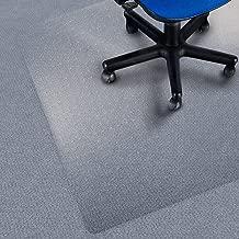 etm Chair Mat for Carpet Floors, Low/Medium Pile - 90x120cm (3'x4') | Multiple Sizes Available | 100% Pure Polycarbonate, Transparent, High Impact Strength