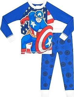 Marvel Captain America Boys' Captain America Pajamas