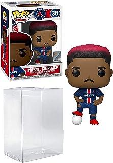 Presnel Kimpembe # 36 PSG Paris Saint Germain's Pop Sports: Soccer Action Figure (مرفق مع EcoTek Pop Box Protector لحماية ...
