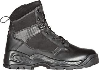 """5.11 Men's ATAC 2.0 6"""" Tactical Side Zip Military Boot, Style 12394, Black"""
