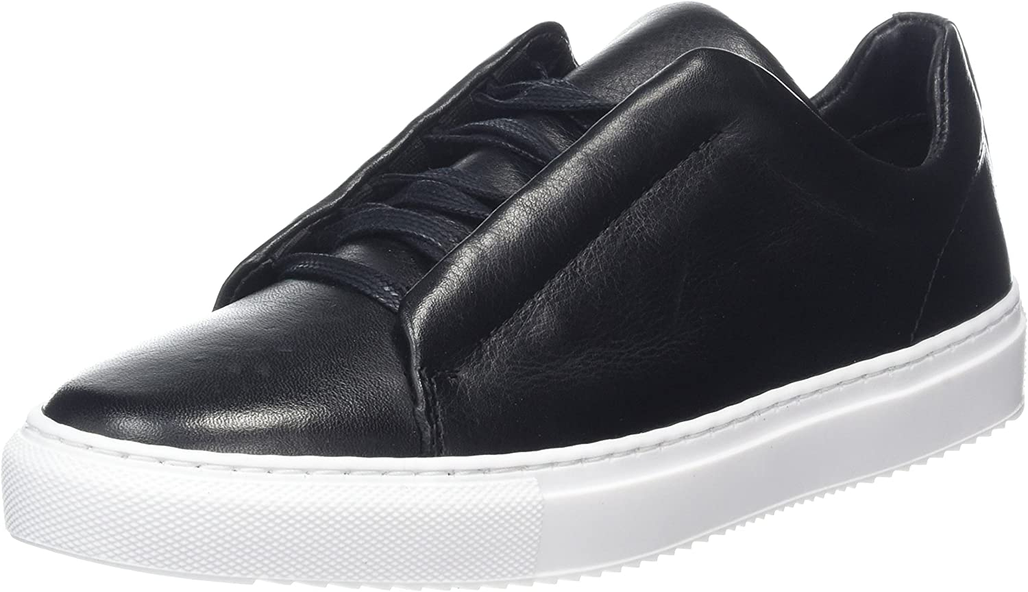 Bianco Women's Hidden Leather Lace up Trainers
