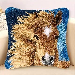 Crochet de loquet Crochette DIY COUVERTURE COUVERTURE, MOTIFIÈRE DES ANIMAUX COUSSINES COUSSINE CASHION CASSE CROISSION DE...