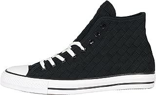 Converse Men's Chuck Taylor All Star Hi Top Basketball Shoes 9 M US Black White
