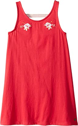 Leaves Movement Dress (Big Kids)
