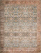 Loloi ll LAY-04 Layla Collection Printed Vintage Persian Area Rug 7'6