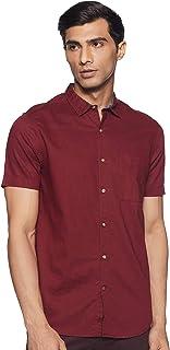 Max Men's Plain Regular Casual Shirt