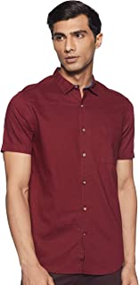 Max Men's Plain Regular Casual Shirt