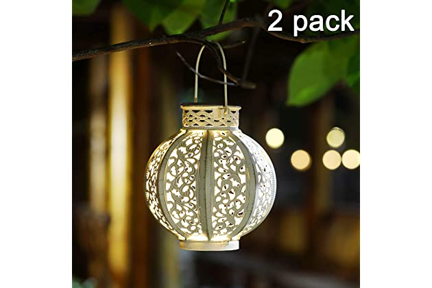 Best Solar Hanging Lanterns For Outdoors Amazon Com
