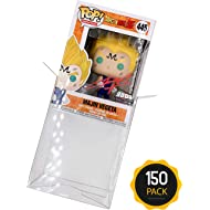 Amazing Quality Pop Protector Cases for 4-inch Funko Pop Vinyl Figures (150 Pack of Cases)