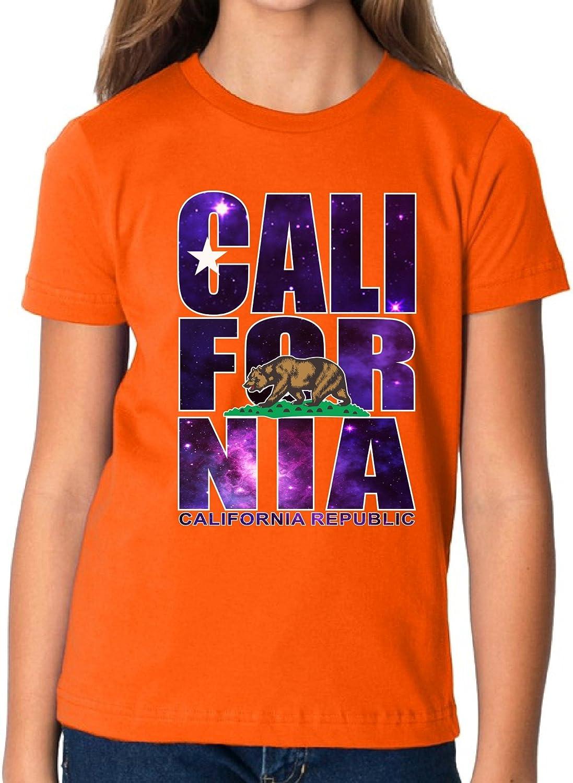 Vizor California Republic Galaxy Shirt for Kids California Youth Shirt Cali Gift