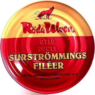 Röda Ulven Surströmming Filets 300 g - fermentierte Hering