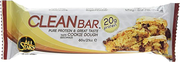 All Stars Clean Bar High Protein Cookie Dough 60 g 18-Count Estimated Price : £ 42,31