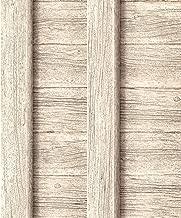 Muriva NEW LUXURY DECORPASSION FENCE BEIGE WOOD PANEL EFFECT WALLPAPER J18607
