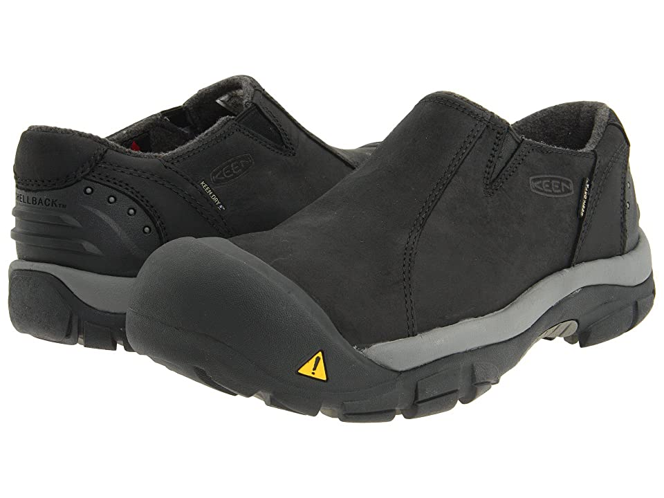 Keen Brixen Lo (Black/Gargoyle) Men