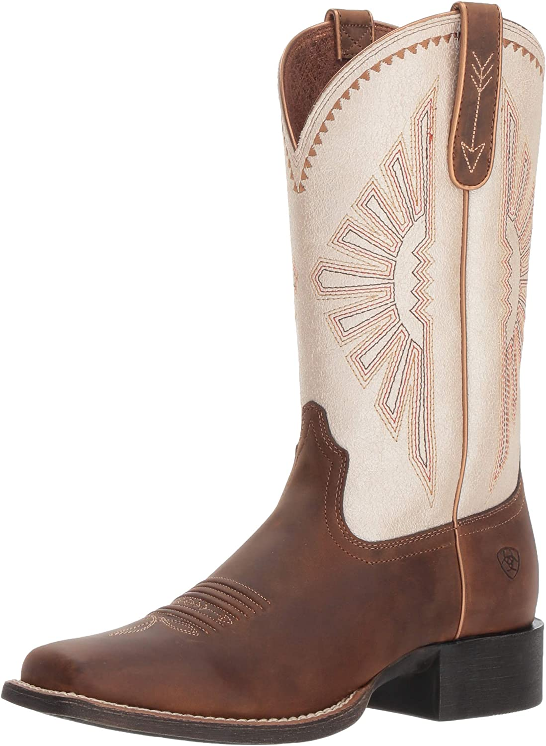ARIAT Woherrar Round Up Rio Rio Rio Boot distress bspringaaa  bästa priserna