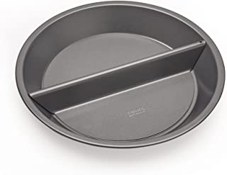 Chicago Metallic Professional Non-Stick Split Decision Pie Pan, 9-Inch - 26719