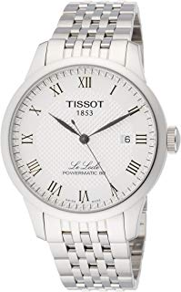 Tissot Powermatic 80 Silver Dial Stainless Steel Men's Watch T0064071103300