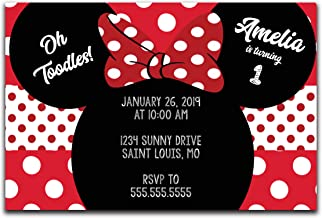 Best free minnie mouse invitations to print Reviews