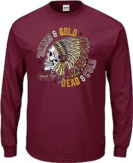 Smack Apparel Washington Football Fans. Skins' & Gold Till I'm Dead & Cold Maroon T-Shirt (Sm-5X)