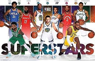"""Trends International NBA League - Superstars 19 Wall Poster, 22.375"""" x 34"""", Premium Unframed Version"""