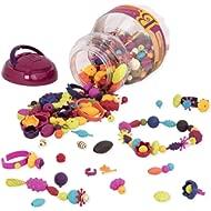 B. Toys - (500-Pcs) Pop Snap Bead Jewelry - DIY Jewelry Kit for Kids