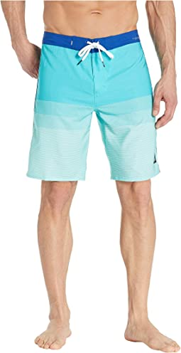 4cad26f9b9 Quiksilver acid print volley boardshorts 17 diva blue | Shipped Free ...