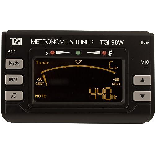TGI TGI98W Accordeur/Métronome pour Instruments à vent