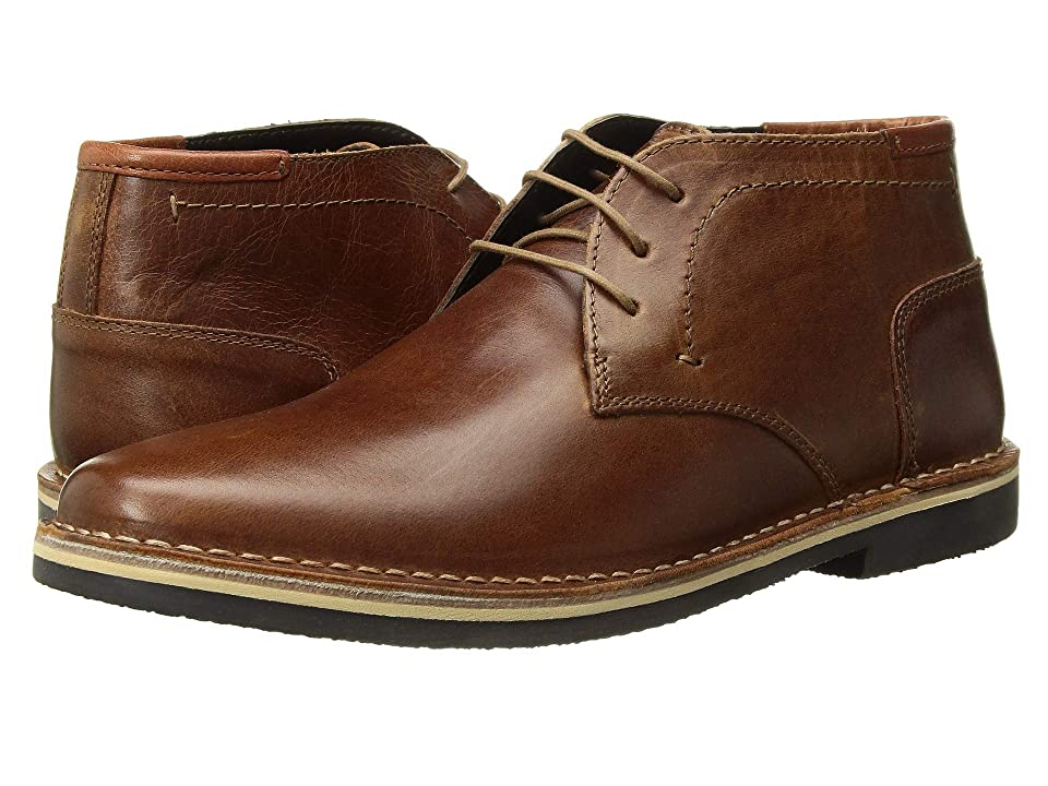 Steve Madden Harken (Cognac Leather) Men