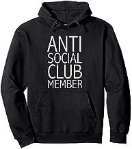 Anti Social Club Member  Pullover Hoodie