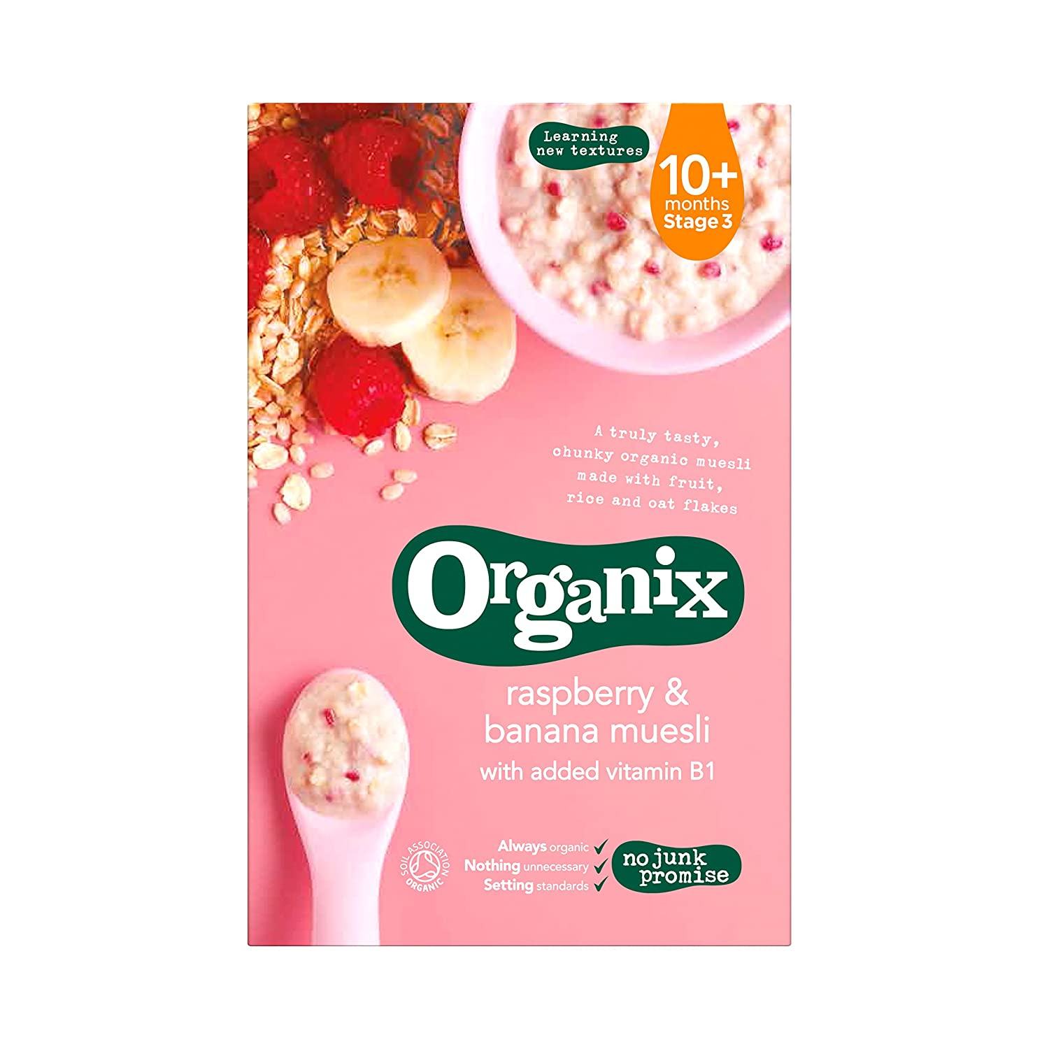 Organix - Stage 3 Great interest From 10 Organic Rasp Infant Cereals cheap Months