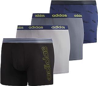 Core Stretch Cotton Boxer Brief Underwear (4-Pack)