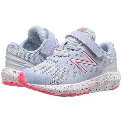 New Balance Kids KVURGv2I (Infant/Toddler) (Ice Blue/Pink Zing) Girls Shoes
