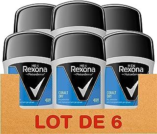 comprar comparacion Rexona Cobalt Dry, Desodorante Antitranspirante, 50 ml, 6 Unidades
