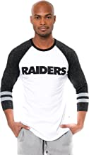 Ultra Game Men's T Raglan Baseball 3/4 Long Sleeve Tee Shirt