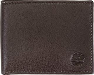 Timberland Men's Blix Leather Passcase, Brown, One Size
