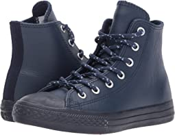Chuck Taylor All Star Leather + Thermal - Hi (Little Kid)