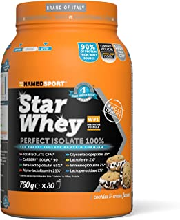 Star whey perfect isolate 100% cookies and cream 750g (1000046791)