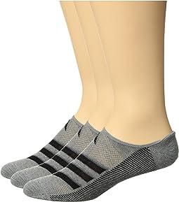 Climacool® Superlite Stripe Super No Show Socks 3-Pack
