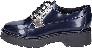 [CARMENS] 古典的な女性の靴 レディース エナメル ブルー