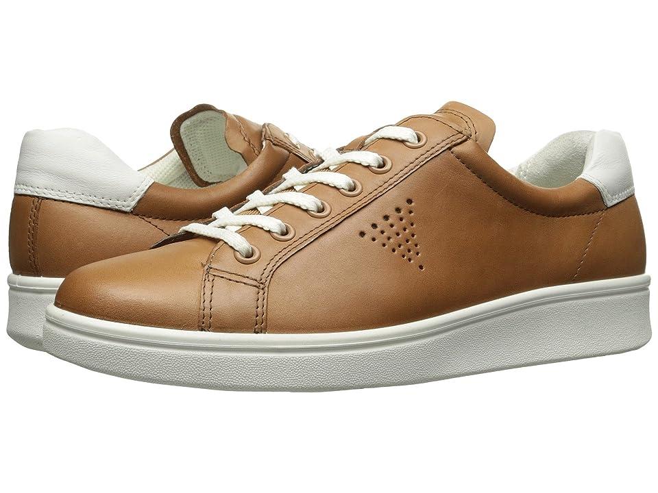 ECCO Soft 4 Sneaker (Cashmere/White) Women