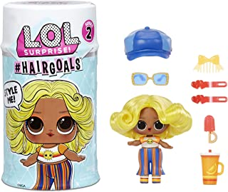 LOL 서프라이즈 헤어골즈 시리즈2 인형 LOL Surprise Hairgoals Series 2 Doll with Real Hair and 15 Surprises