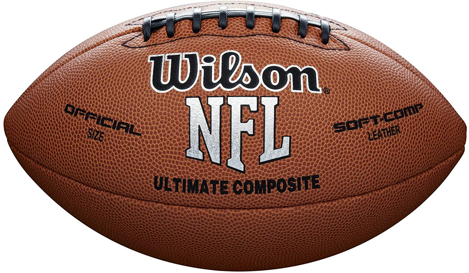 Amazon.com: Wilson NFL Ultimate Composite Game Football (Official Size):  Sports & Outdoors