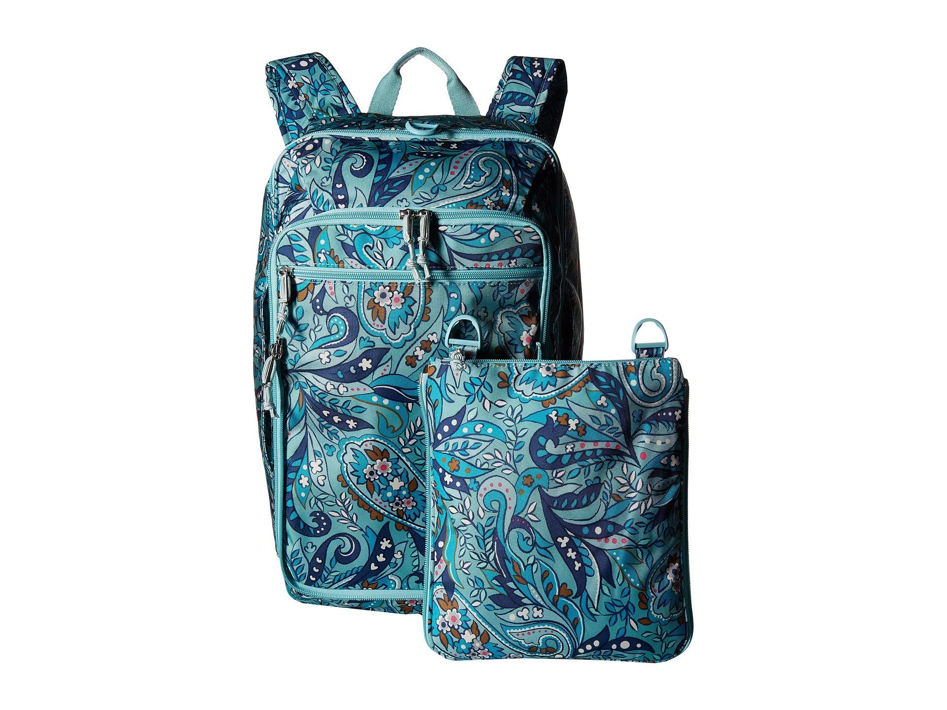 Convertible Lighten Vera Travel Daisy Paisley Bag Up Bradley TRTqwtZ